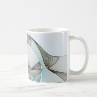Fraktal-abstrakte Eleganz Kaffeetasse