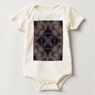 Fraktal Baby Strampler