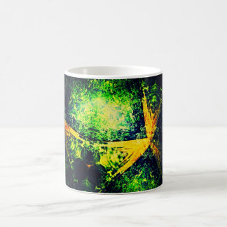 Fraktal-Bäume Kaffeetasse