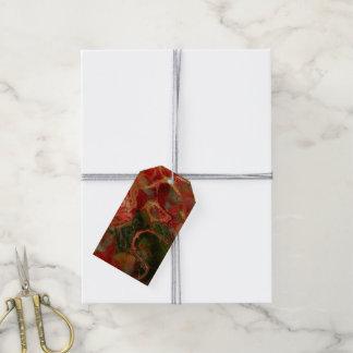 Fraktal-Blume Fantasie Geschenkanhänger