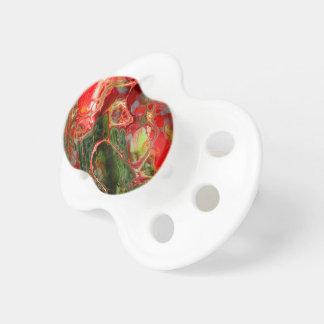 Fraktal-Blume Fantasie Schnuller