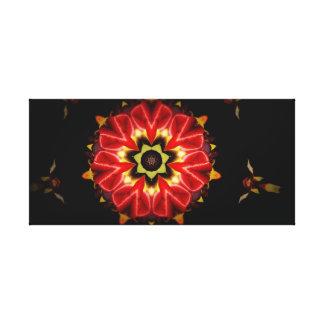 Fraktal-Blume Gespannter Galeriedruck