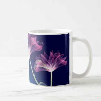 Fraktal-Blumen Kaffeetasse