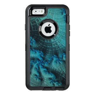 Fraktal der grünen Farben auf OtterBox für iPhone OtterBox iPhone 6/6s Hülle