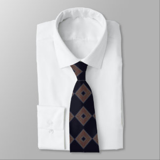Fraktal-Diamant-Krawatte Krawatte
