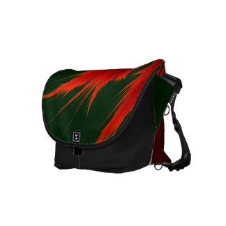 Fraktal-Flammen-Bote-Tasche Kurier Taschen
