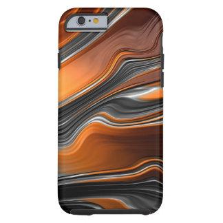 Fraktal-Fluss iPhone 6/6S starker Fall Tough iPhone 6 Hülle