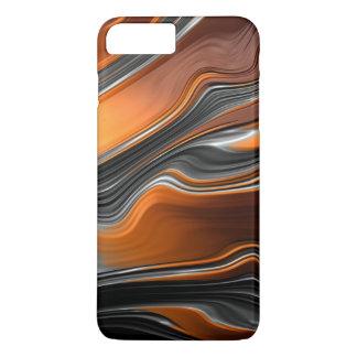 Fraktal-Fluss iPhone X/8/7 plus kaum dort Fall iPhone 8 Plus/7 Plus Hülle