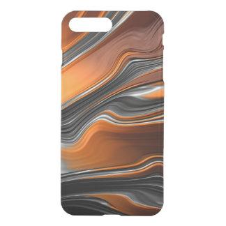 Fraktal-Fluss iPhone X/8/7 plus klaren Fall iPhone 8 Plus/7 Plus Hülle