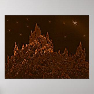 Fraktal-Forest Poster