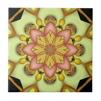 Fraktal-Kaleidoskopfliese Fliese