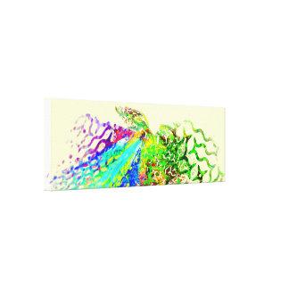 Fraktal - Kolibri Leinwanddruck