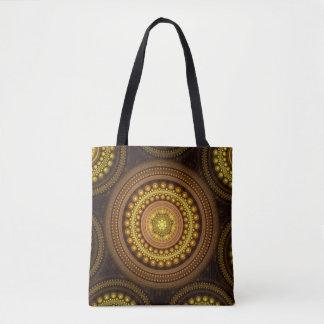 Fraktal-Kreise Tasche