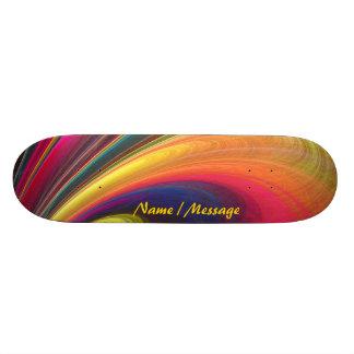 Fraktal-Kunst4 Skateboard Skateboardbrett