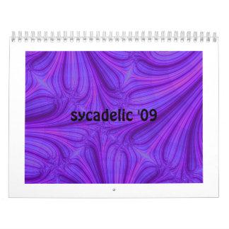 Fraktal-Kunst-Kalender für 2009 - besonders Kalender