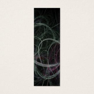 Fraktal-Kunst-Lesezeichen Mini Visitenkarte
