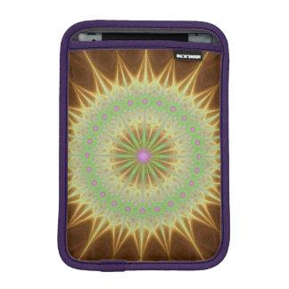 Fraktal Mandalasonne iPad Mini Sleeve