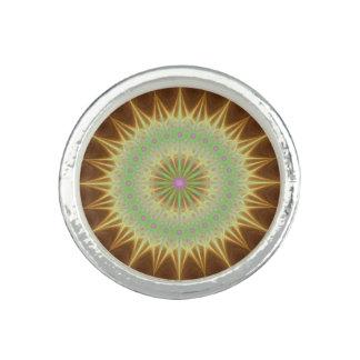 Fraktal Mandalasonne Ring