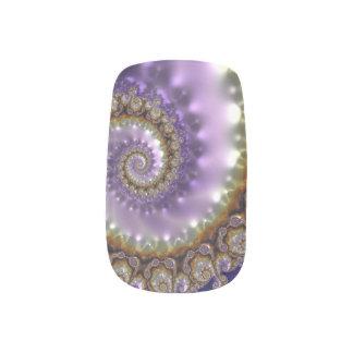 Fraktal-Nagel-Kunst, Single-Entwurf pro Minx Nagelkunst
