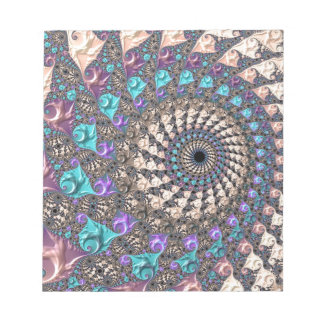Fraktal-Spirale Notizblock