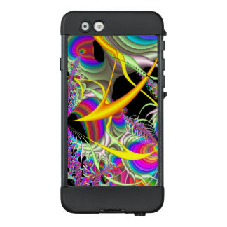 Fraktal-Süßigkeits-Farben LifeProof NÜÜD iPhone 6 Hülle