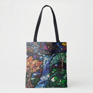 Fraktal-Szenen-Taschen-Tasche Tasche