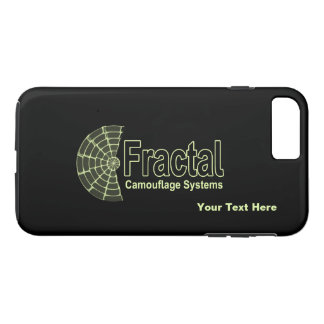 Fraktal-Tarnungs-Systems-Logo iPhone 8 Plus/7 Plus Hülle