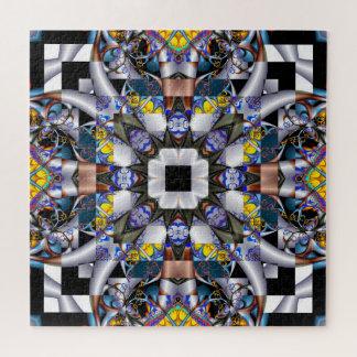 Fraktal-verrückte Steppdecke Puzzle