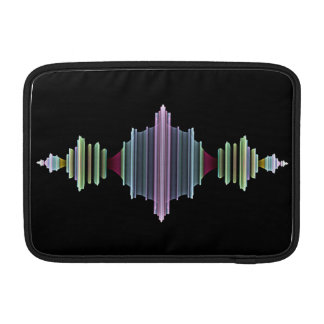 Fraktal-Wellen MacBook Air Sleeve