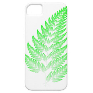 Fraktalfarnblatt Etui Fürs iPhone 5