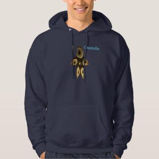 Fraktalinuit-Jäger Hoodie