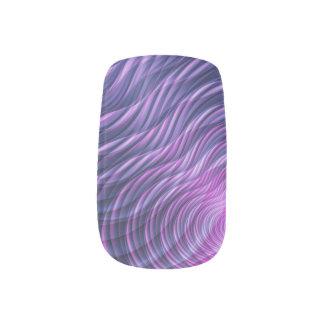 Fraktalwellen Minx Nagelkunst