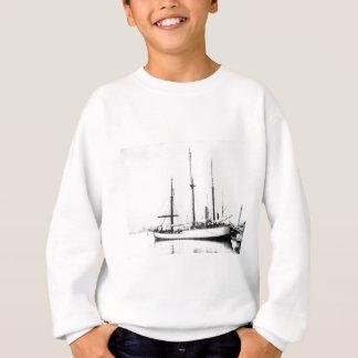 Fram, das Schiff benutzt vom polaren Forscher Sweatshirt