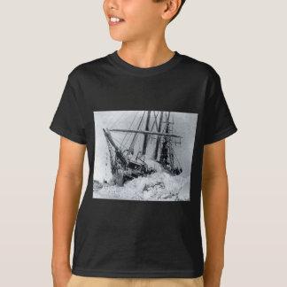 Fram, das Schiff benutzt vom polaren Forscher T-Shirt