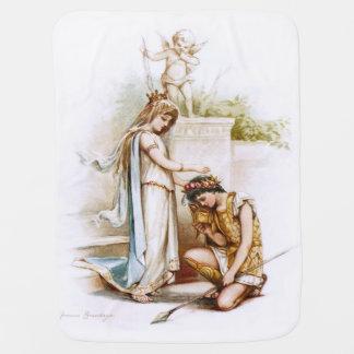 Frances Brundage: Prinzessin Thaisa und Pericles Baby-Decke