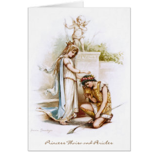 Frances Brundage: Prinzessin Thaisa und Pericles Grußkarte