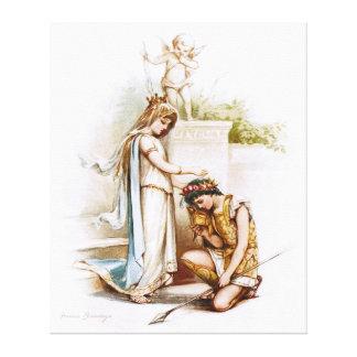 Frances Brundage: Prinzessin Thaisa und Pericles Leinwand Drucke