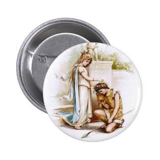 Frances Brundage: Prinzessin Thaisa und Pericles Runder Button 5,1 Cm