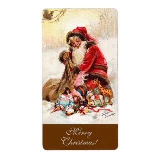 Frances Brundage - Weihnachtsmann mit Spielzeug