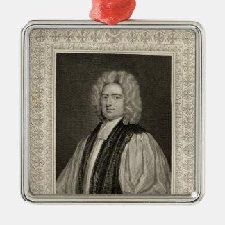 Francis Atterbury, Bischof von Rochester Quadratisches Silberfarbenes Ornament