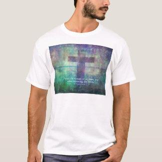 Francis von Assis - predigen Sie das Evangelium T-Shirt