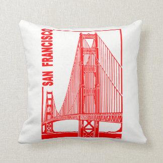 Francisco-Goldene Tor-Brücke Sans Kissen