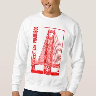 Francisco-Goldene Tor-Brücke Sans Sweatshirt
