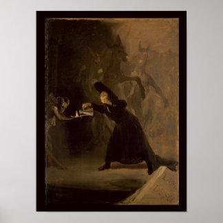 Francisco Jose de Goya y Lucientes | EL Hechizado Poster