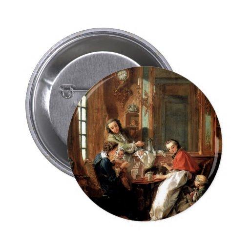 Francois Boucher - Frühstück Button