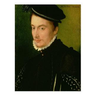 Francois de Valois, Herzog von Alençon, 1560s Postkarte