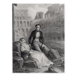 Francois Rene Vicomte de Chateaubriand Postkarte