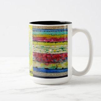 Franesco Demonte Kunst-Kaffee-Tasse 3 - Stücke Zweifarbige Tasse