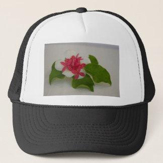Frangipani-Blumenanordnung Truckerkappe