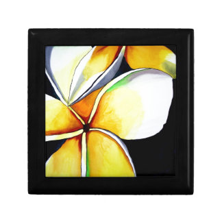 Frangipani-Blumenkunst-Schmuckkasten Schmuckschachtel